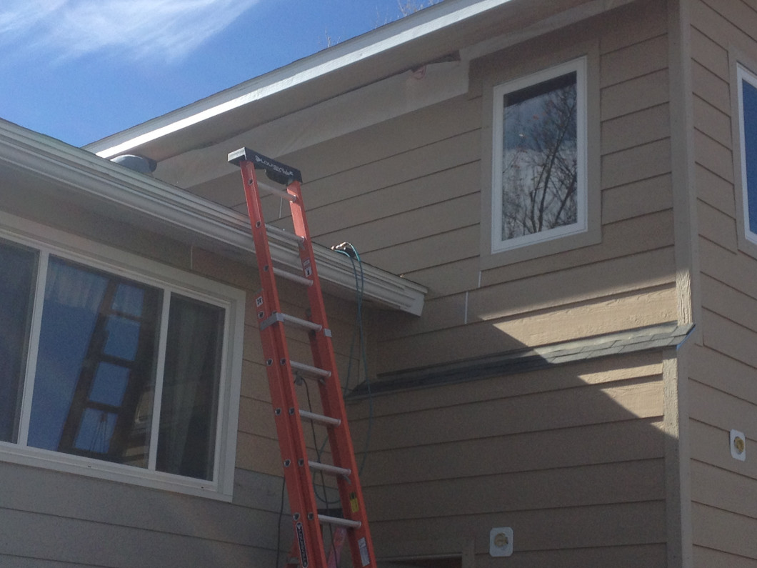 Adding the siding